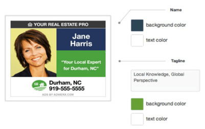 professional real estate display advertising