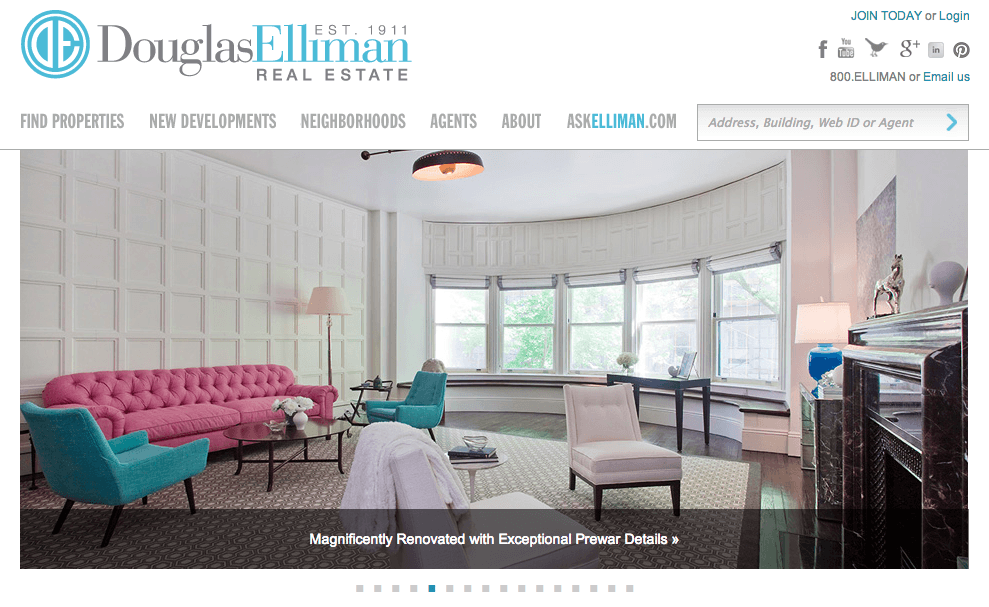 douglas elliman website