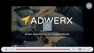 Adwerx for real estate webinar on smart advertising in a digital world from Inman Demo Day