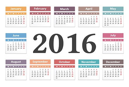 2016 sample blog editorial calendar for real estate