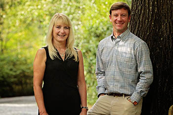 Laurie Weston Davis and Scott Lincicome of Scott Lincicome Properties real estate in Pinehurst, NC