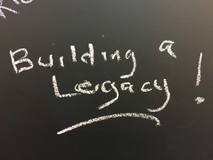 Inspiration wall: building a legacy