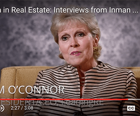 Women in real estate video interviews Pam O'Connor