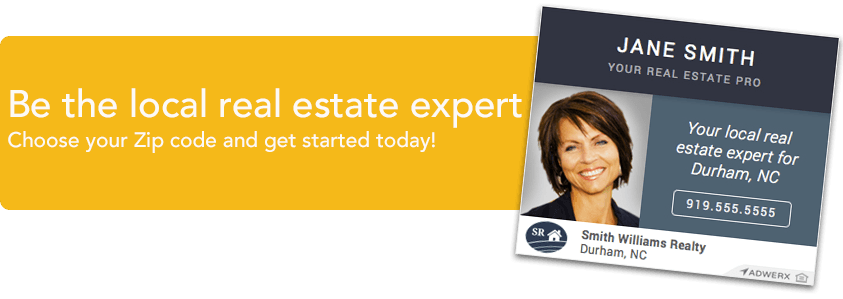 Be the local real estate expert - choose your zip code and get started today
