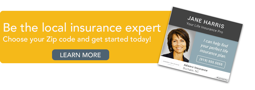 Be the local insurance expert. Choose your zip and get started today.