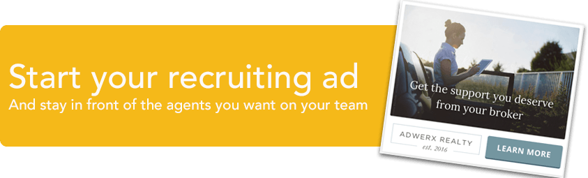Digital ads for real estate recruiting