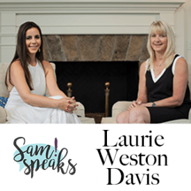 SamSPeaks with Laurie Weston Davis