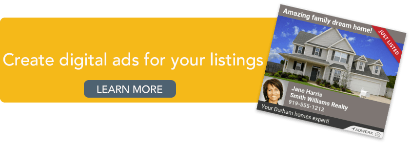 Create a digital ad for your listing Learn more
