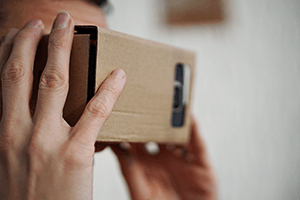VR for real estate virtual reality cardboard viewer
