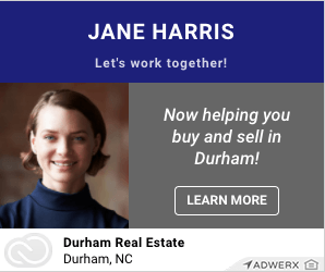 millennial real estate agents Jane Harris Let's Work Together Now Helping You buy and sell in Durham. Learn more